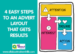 4 Easy steps to an advert layout that gets results - Advertising Tips