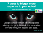 7 ways to trigger more response to your advert