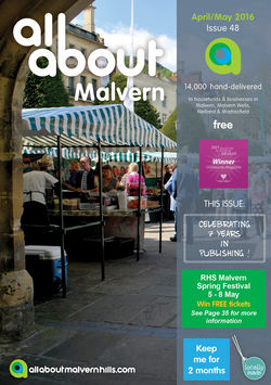 All About Malvern April/May 2016 - All About Malvern