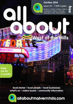 All About West of the Hills Oct/Nov 2014 - All About West of the Hills