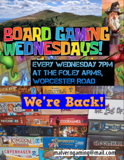 Board Gaming Wednesdays Are Back!
