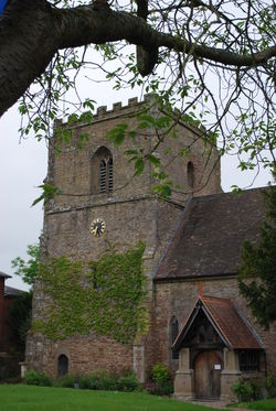 St James Church in Cradley