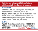 Malvern Dementia Action Alliance