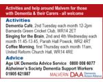 Malvern Dementia Action Alliance