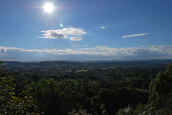 Day 252 - 9 September - Sunny Afternoon from Jubilee Drive Malvern Hills