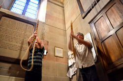 Madresfield Church needs more Bell Ringers - Bell Ringing