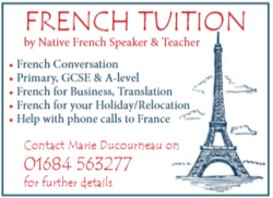 French Tuition with Marie Ducourneau