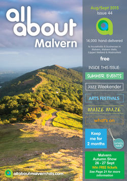 All About Malvern Aug/Sept 2015 - All About Malvern