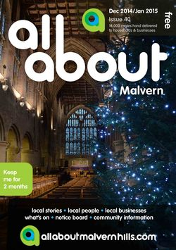 All About Malvern Dec 14/Jan 15 - All About Malvern