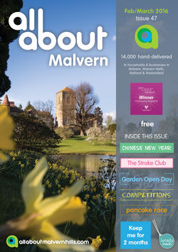 All About Malvern Feb/March 2016 - All About Malvern