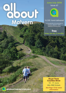 All About Malvern June/July 2018 - All About Magazines