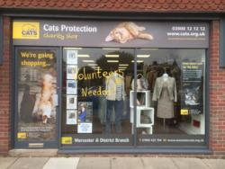 Cats Protection Malvern Shop -