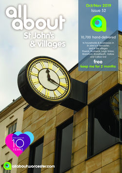 All About St John's & Villages Oct/Nov 2019 - All About Magazines