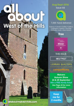All About West of the Hills Aug/Sept 2016 - All About West of the Hills