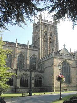 The Great Malvern Priory