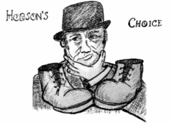 LADS present Hobson's Choice