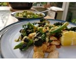 Our Lizzy Recipe: Herby Greens & Beans