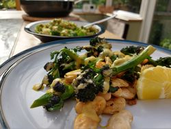 Our Lizzy Recipe: Herby Greens & Beans - Our Lizzy Cooking