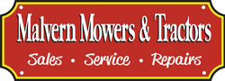 Malvern Mowers and Tractors for Service - Repairs - Hire
