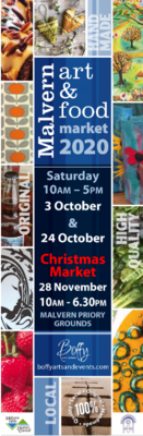 Malvern Art & Food Market 2020 - CANCELLED -