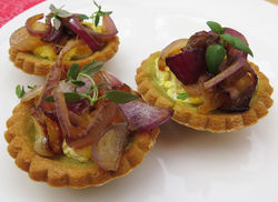 Our Lizzy Recipe: Summer Savoury Tarts - Our Lizzy Cooking