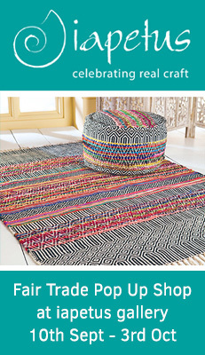 Namaste Fair Trade Rug Shop - Fair Trade Rug Pop Up Shop at iapetus gallery, Great Malvern.