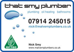 Nick Smy, That Smy Plumber : Plumber in Malvern Hills area -