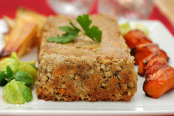 Our Lizzy's Recipe: Cashew & Carrot Roast - Nut Roast