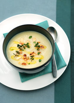 Lizzy's Parsnip and Apple Soup - Our Lizzy Cooking