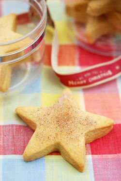 Our Lizzy's Recipe: Festive Spiced Shortbread - Our Lizzy
