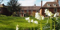 The Commandery at Easter -