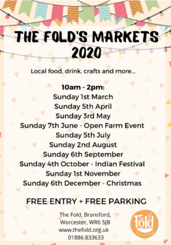 Monthly Market at The Fold, Bransford -