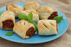 Our Lizzy's Recipe: Tomato & Chestnut Rolls - Our Lizzy Cooking