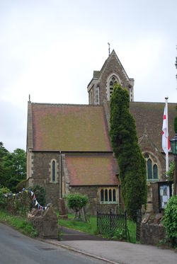 St James Church in West Malvern