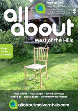 All About West of the Hills Aug/Sept 2014 - All About West of the Hills